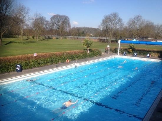 Easter Bank Holiday Picture Of Pools On The Park Richmond Tripadvisor