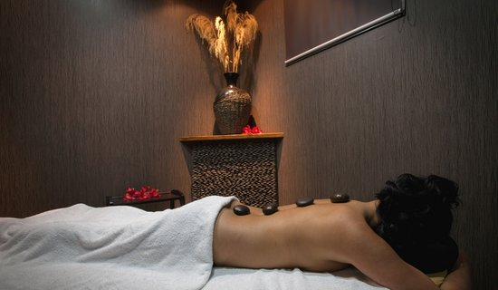 Total bliss with a hot stone massage at bersantai day spa for A total new you salon