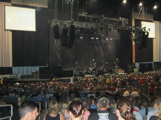 Main Stage at Comcast from section 700 - Picture of ...