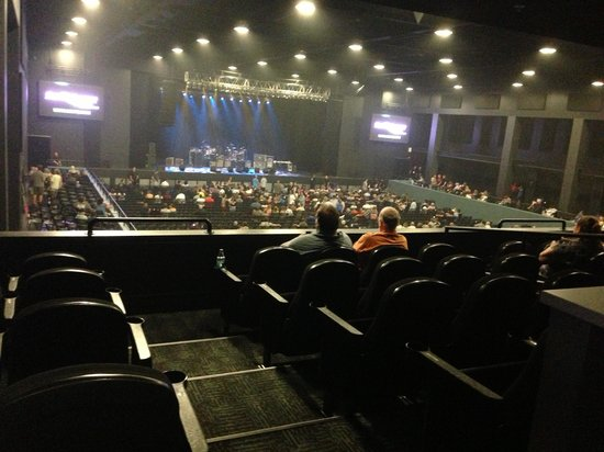 Concert View From Suite Seating Picture Of Sands