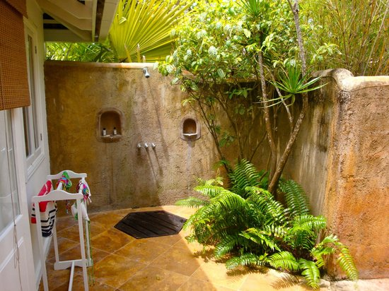 Amazing Outdoor Shower In Cottage 4 Picture Of Jamaica