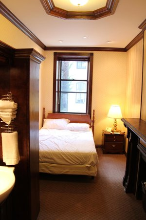 Hotel 17: Room on the second floor, facing East 17th Street