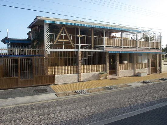 A1 Apartments Aruba: Front of the Building