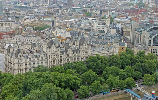 Royal Horseguards From The London Eye Picture Of The