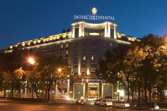 Intercontinental Madrid Spain Hotel Reviews Tripadvisor