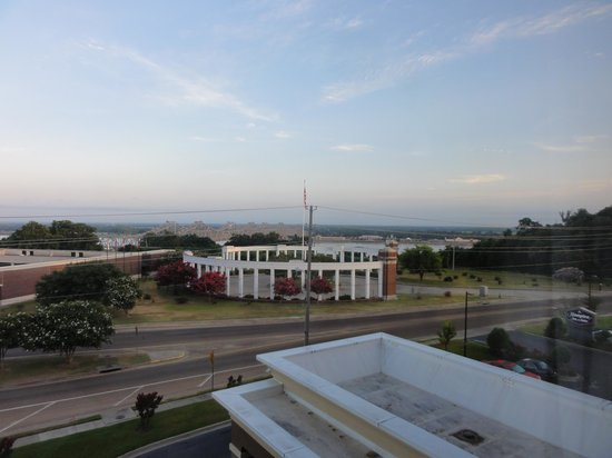 Hampton Inn & Suites Natchez: View of the Mississippi