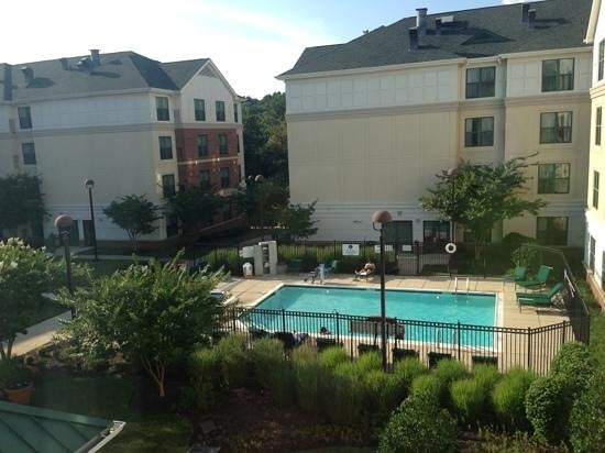 Homewood Suites by Hilton Columbia: view from room.