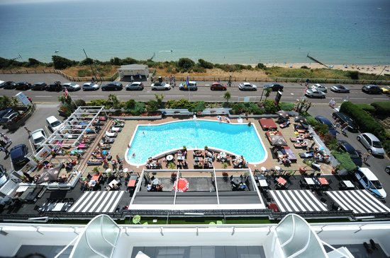 Lido deck and outdoor pool ventana picture of the - Public swimming pools bournemouth ...