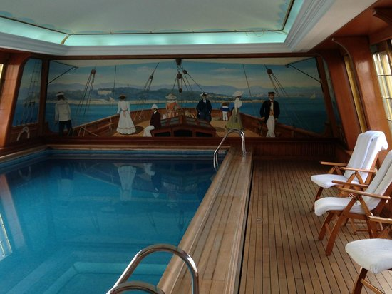 A Swimming Pool Like You Have Never Seen Picture Of Le Bristol Paris Paris Tripadvisor