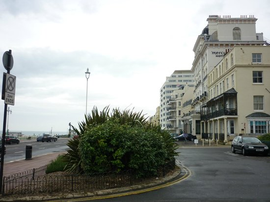 Walking Up Kings Road From The Centre Picture Of Mercure Brighton Seafront Hotel Brighton