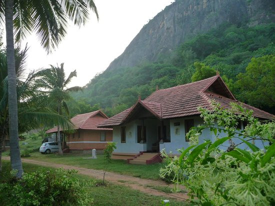 Pollachi India  City pictures : Pollachi, India: View of a Cottage