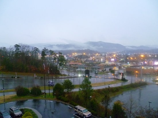 Comfort Suites: From front balcony.