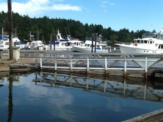 Photo of Ganges Marina and Boatel Saltspring Island