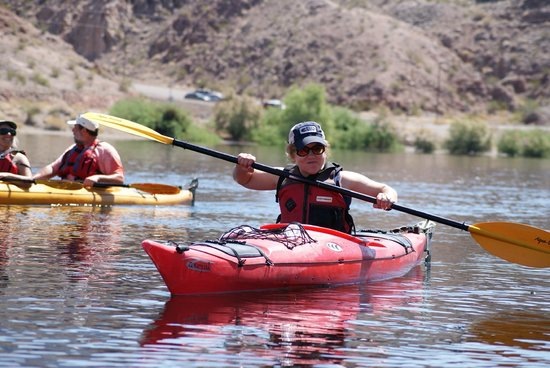 Evolution Expeditions is a perfect for a family outing. Evolution Expeditions offers kayak tours, wake sports and has a water park. The kayak tours can take you around the Hoover Dam or to Black Canyon; there is a twilight tour that is a perfect way to watch the sunset.