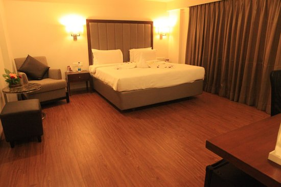 king size room - Picture of Minerva Grand Tirupati, Tirupati