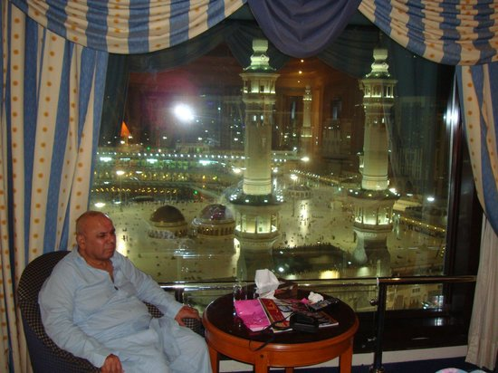 The Kaaba View From The Room Picture Of Intercontinental Dar Al Tawhid Mecca Tripadvisor