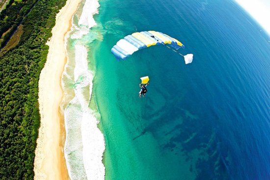 Skydive the Beach and Beyond Sydney-Wollongong