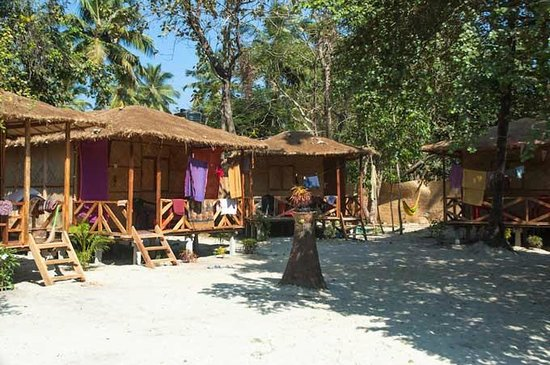 Palolem, India: picture of the camp