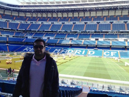 Santiago bernabeu picture of bernabeu stadium estadio for Puerta 38 santiago bernabeu