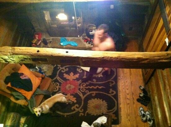 Jerico Bed & Breakfast: view from loft