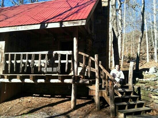 Jerico Bed & Breakfast: front of cabin