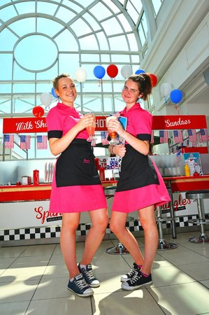 Cool Uniforms Picture Of Spangles American Diner