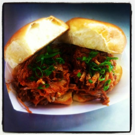 Pulled Pork Sliders With Homemade Pineapple Rum Bbq Sauce