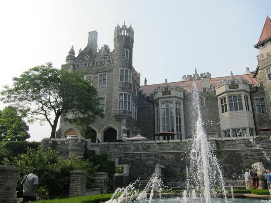 Casa loma from the gardens out back picture of casa loma for 1 austin terrace toronto ontario m5r 1x8 canada