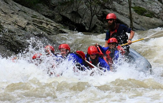 Nantahala Outdoor Center Nolichucky River White Water Rafting