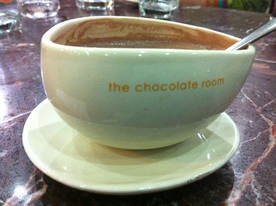 Delicious hot chocolate. - Picture of The Chocolate Room, Udaipur ...