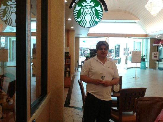 The Florida Hotel and Conference Center: Desayuno en el Starbucks del Hotel