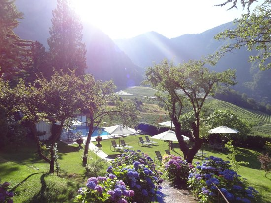 Pool area picture of relais chateaux hotel castel fragsburg merano tripadvisor