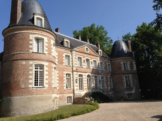 Le chateau de beauharnais la ferte beauharnais france b b reviews - Chateau de beauharnais ...