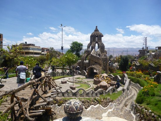 Huancayo, Peru: The 'Stone Park' in October 2012