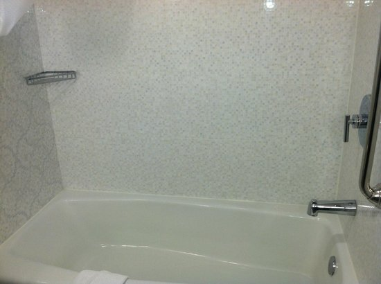 Comfort Inn Williamsburg Gateway: Tub/shower combination