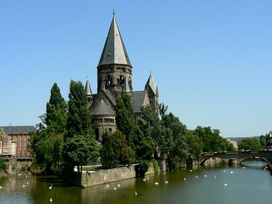 Le temple neuf metz france address church cathedral - Le channel metz ...
