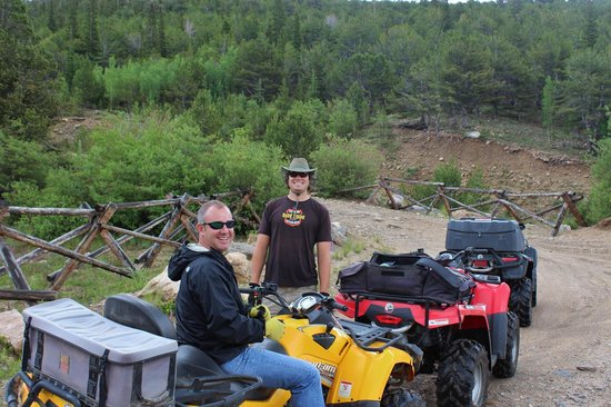 ATV Experience: Taking a break