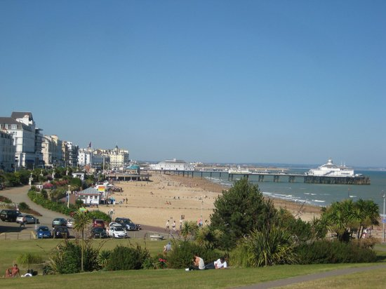 Eastbourne Seafront Picture Of Cavalaire Hotel Brighton Tripadvisor