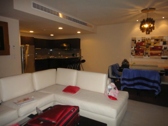 One Bedroom Suite Living Space Picture Of Azul Fives Hotel By Karisma Playa Del Carmen