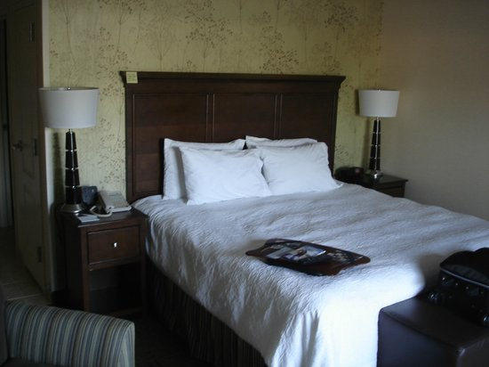 King bedroom - Picture of Hampton Inn & Suites Exeter, Exeter