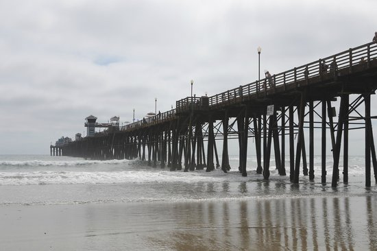 The pier picture of the pier at oceanside oceanside for Oceanside pier fishing reports