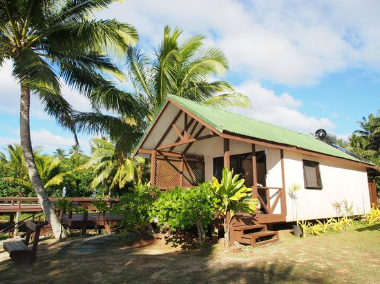 Ngatangiia Cook Islands  city photos gallery : Ngatangiia, Cook Islands: Our bungalow