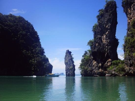 koh kudu lagoon north of koh yao noi about 600 metres. Black Bedroom Furniture Sets. Home Design Ideas