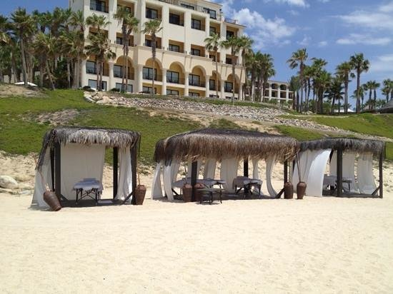 Hilton Los Cabos Beach & Golf Resort: if you desire a massage on the beach.