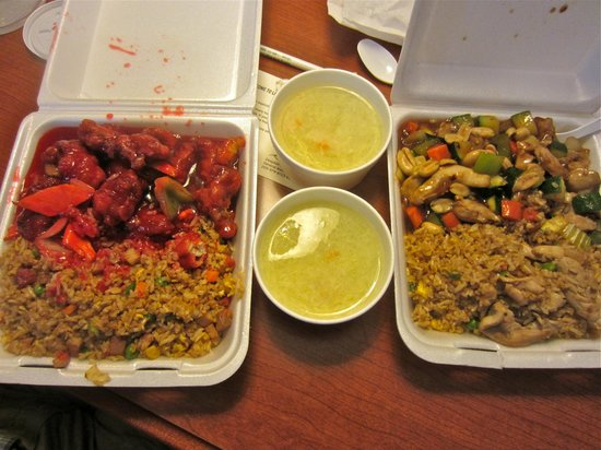 Chinese food bowl to go