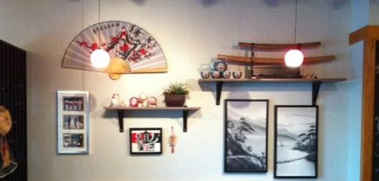 Wall decor picture of zento japanese restaurant