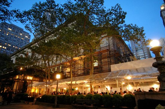 Rooftop Bar Picture Of Bryant Park Grill New York City Tripadvisor