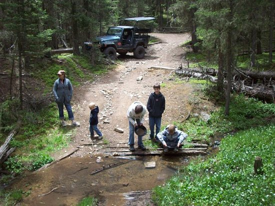 Gold Panning Picture Of Red River Offroad Day Tours Red