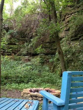 one of the firepits on the trail picture of the inn at