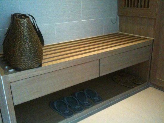 Practical Luggage Bench With Beach Bag Provided Picture Of Mandarava Resort And Spa Karon